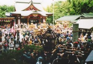 諏訪神社例大祭(撮影:中村カメラ)