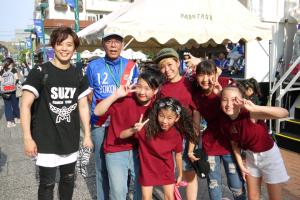 「SUZY dance crew」の皆さん♪