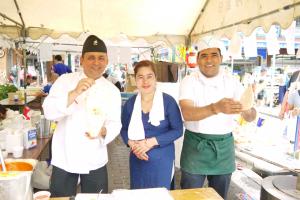 インド・ネパール料理の「ブッダム」が出店♪
