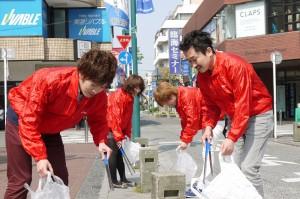 毎朝商店街を掃除してくださっています!