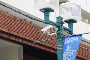 パデュ通りの防犯カメラ